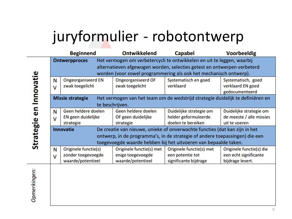 juryformulier - onderzoek 10