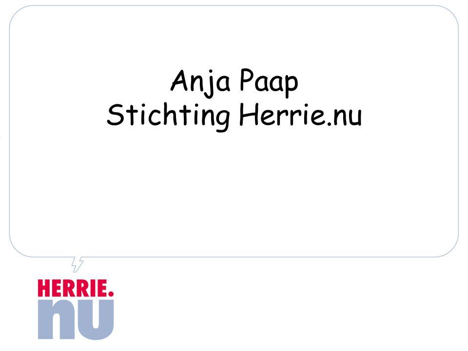 Anja Paap Stichting Herrie.nu