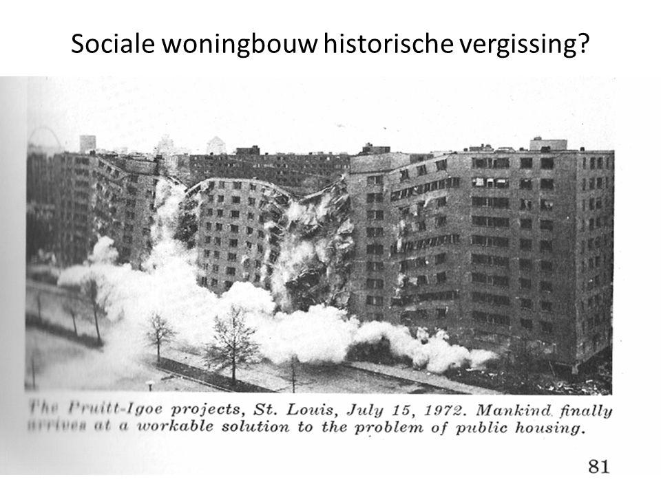 Sociale woningbouw historische vergissing?