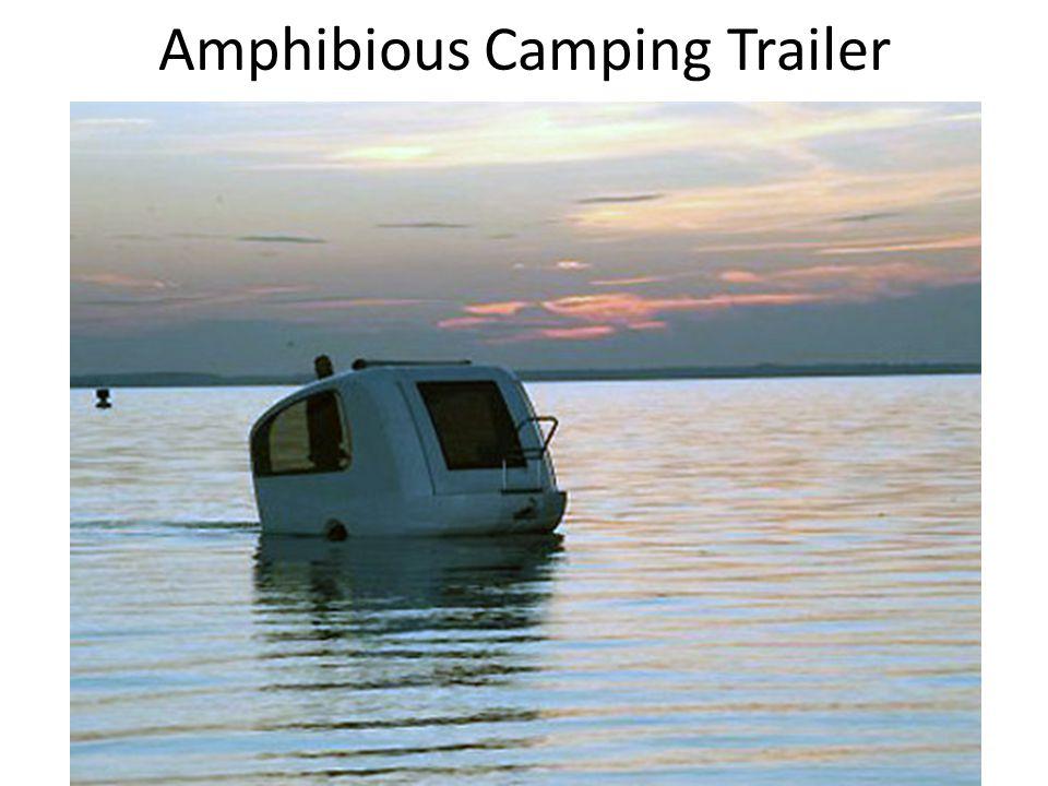 Amphibious Camping Trailer