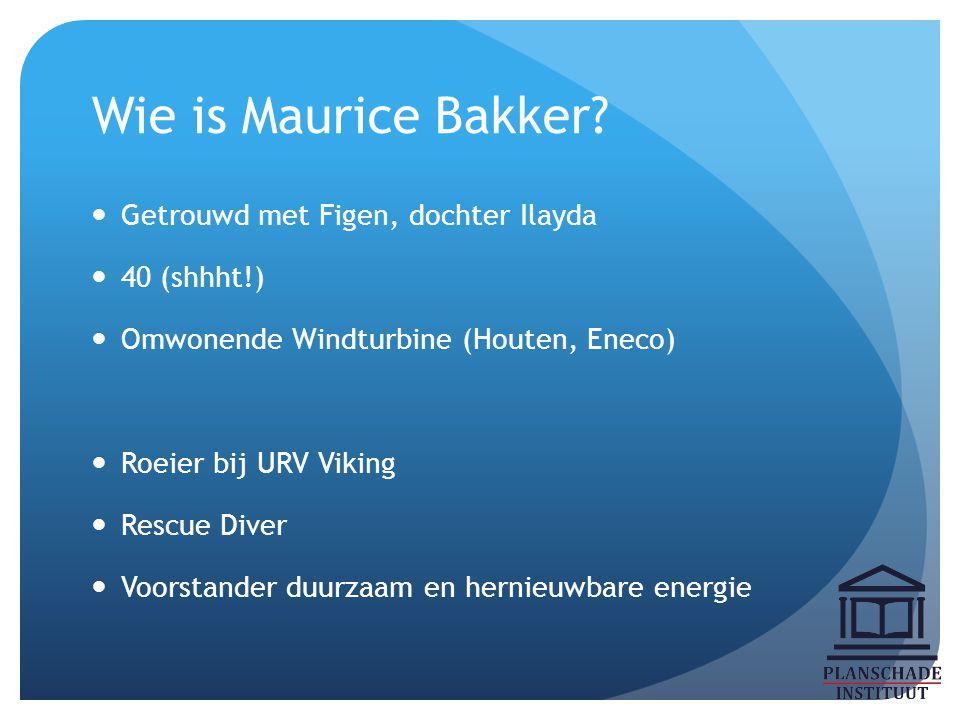 Wat is Maurice Bakker.