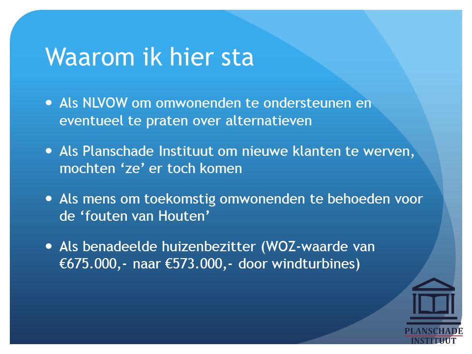 Is er waardedaling bij windturbines? Het antwoord is: Jee