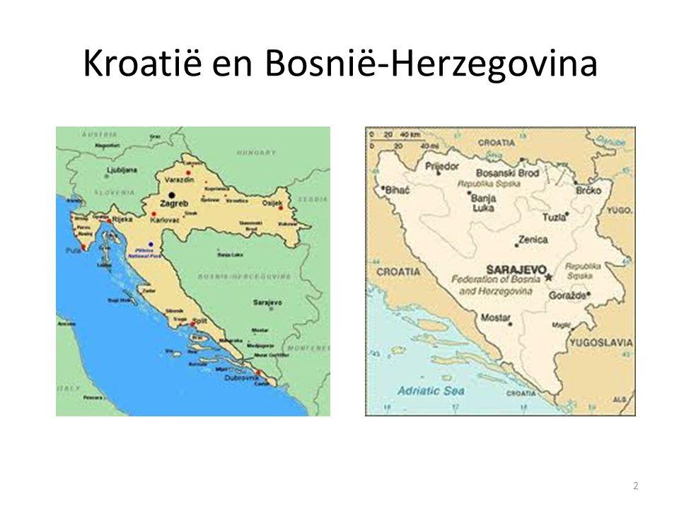 Kroatië en Bosnië-Herzegovina 2