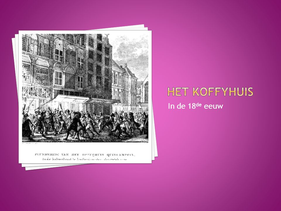 In de 18 de eeuw
