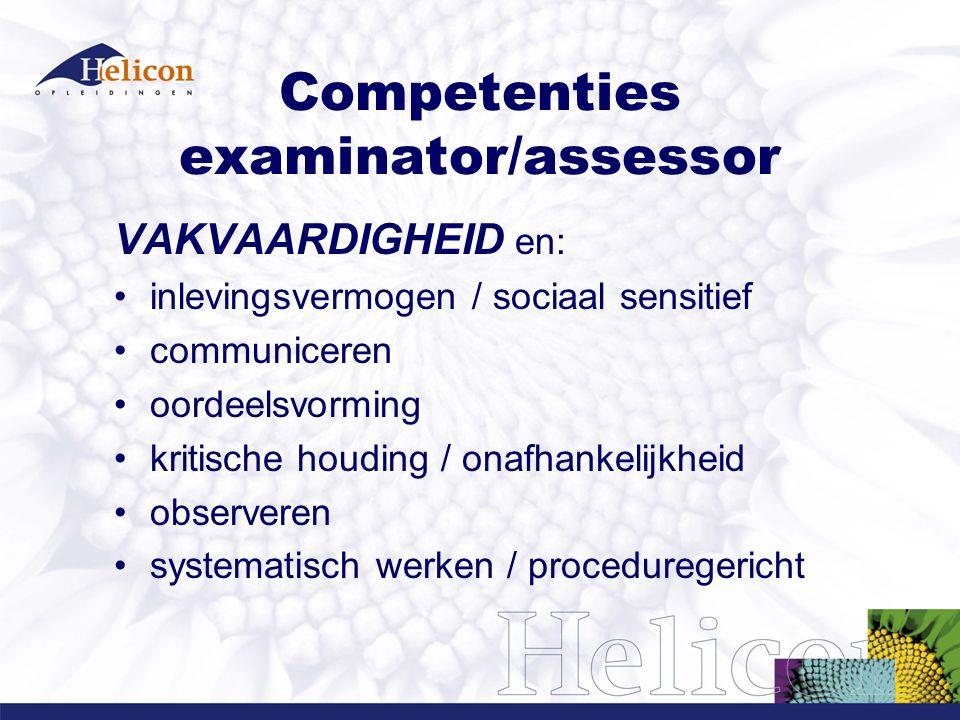Helicon als examenorganisatie 1 instellingsexamencommissie 1 OER + 1 examensystematiek 1 uniforme registratie 1 A4 als normomvang van tekst/schema kwaliteit in plaats van kwantiteit onderwijsteamwork i.p.v.