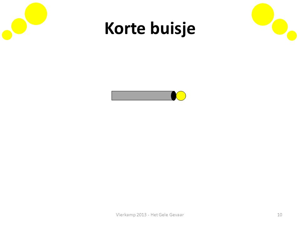 Korte buisje Vierkamp 2013 - Het Gele Gevaar10