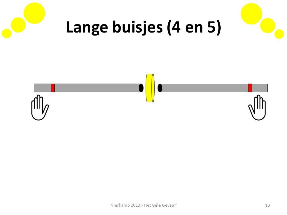 Lange buisjes (4 en 5) Vierkamp 2013 - Het Gele Gevaar13