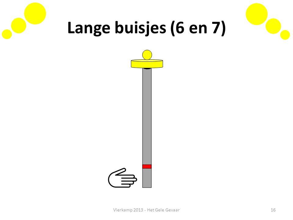Lange buisjes (6 en 7) Vierkamp 2013 - Het Gele Gevaar16