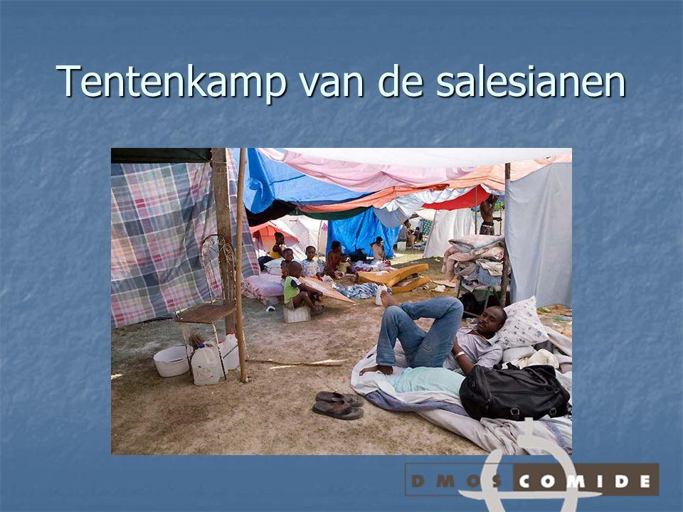 Tentenkamp van de salesianen