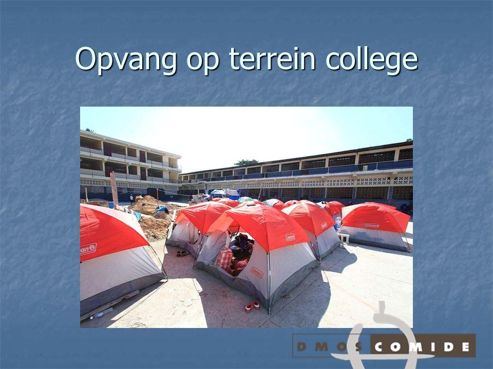 Opvang op terrein college