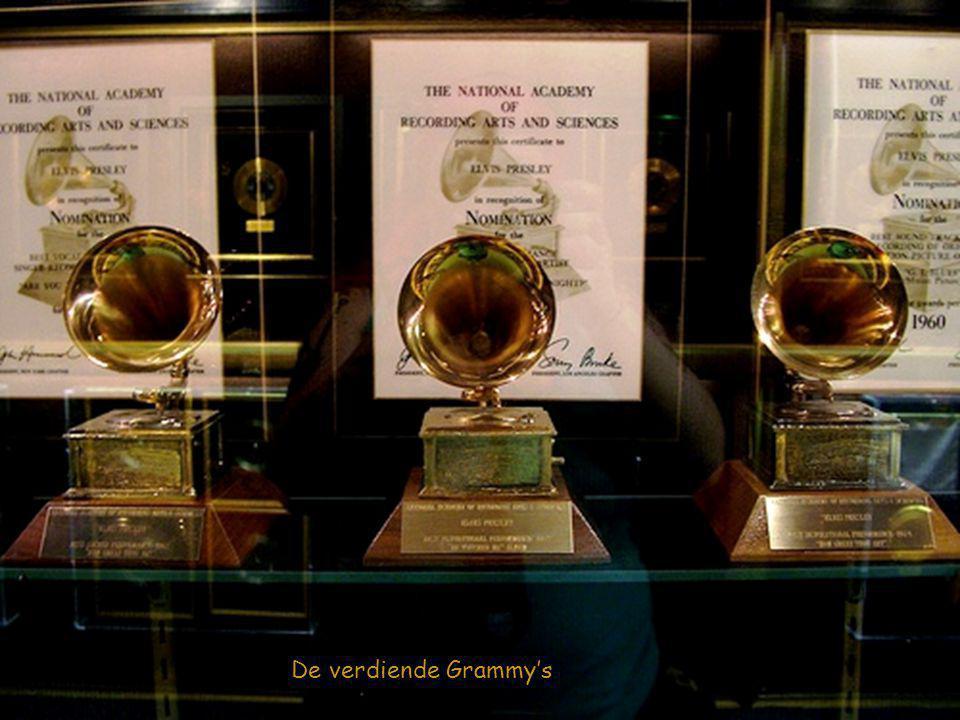 """De """" Platinum """" en """" Gouden """" platen hal"""