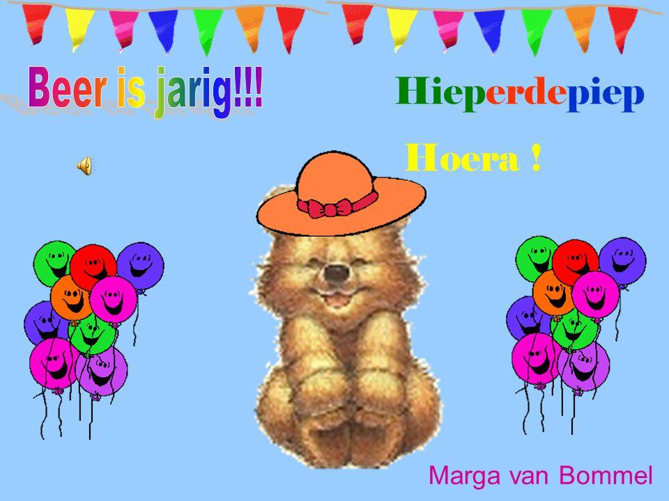 Hieperdepiep Hoera ! Marga van Bommel