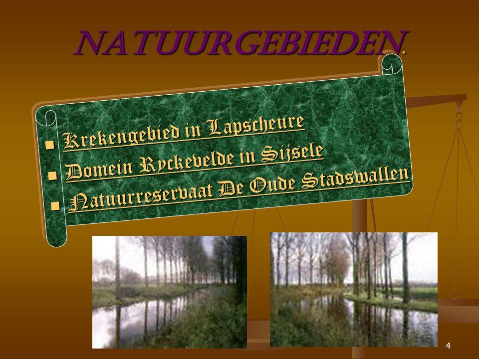 3 Damme en haar deelgemeenten Damme Damme en haar deelgemeenten liggen in een prachtige groene omgeving.