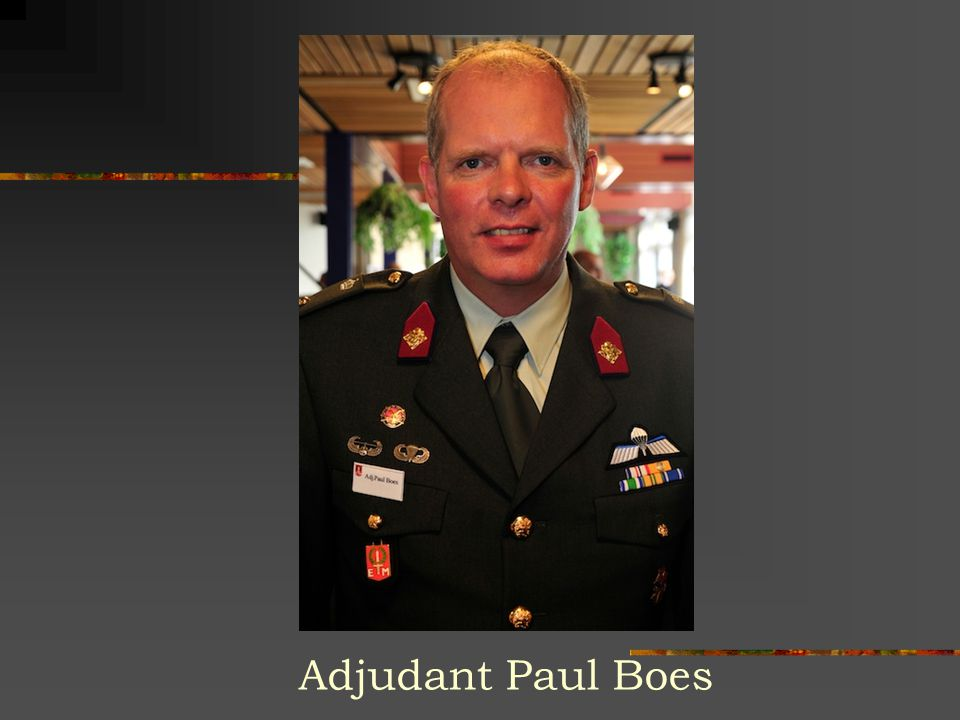 Adjudant Paul Boes