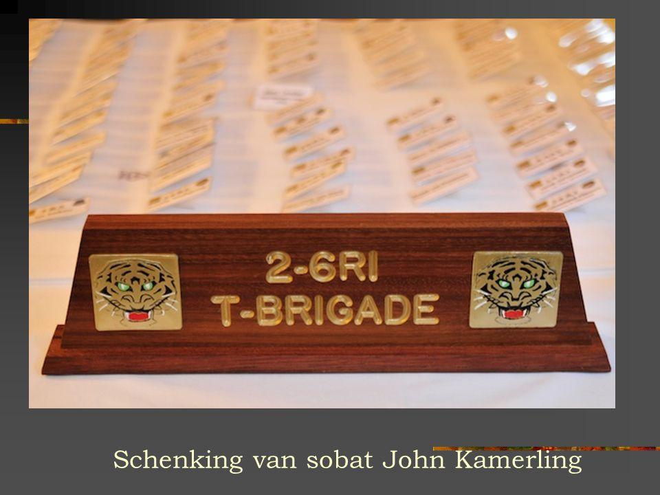 Schenking van sobat John Kamerling