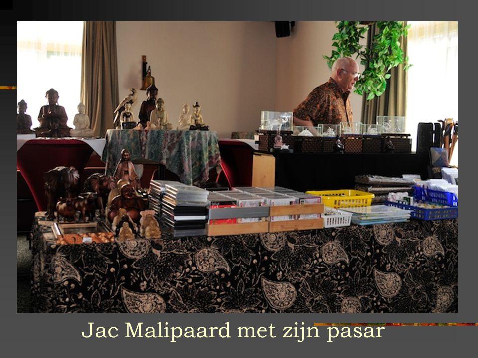 Jac Malipaard met zijn pasar