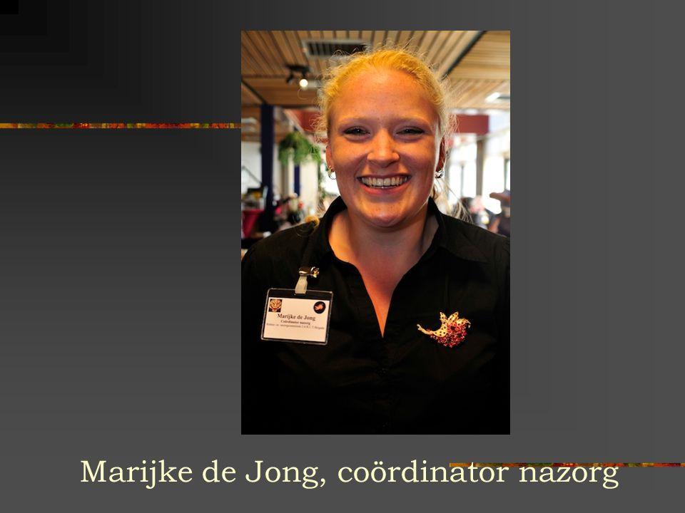 Marijke de Jong, coördinator nazorg