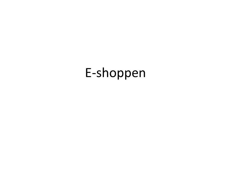 E-shoppen