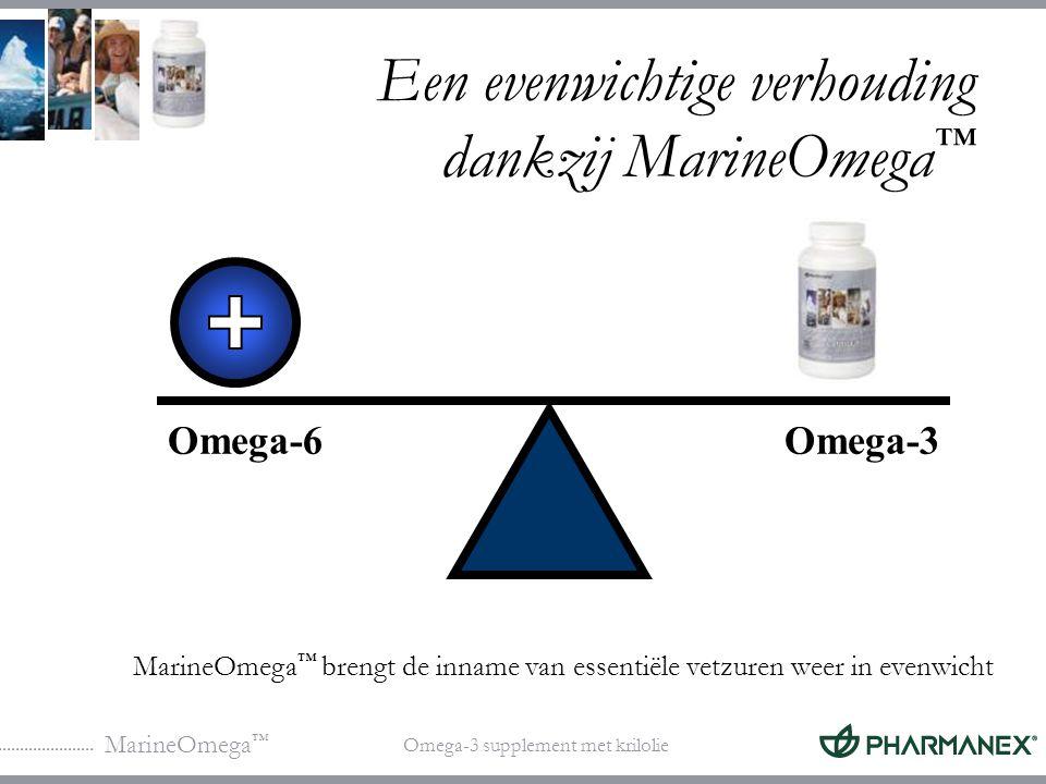MarineOmega ™ Omega-3 supplement met krilolie Welke gevolgen kan een onevenwichtige inname van vetzuren hebben voor de gezondheid.