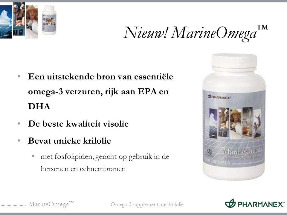 MarineOmega ™ Omega-3 supplement met krilolie Nieuw.