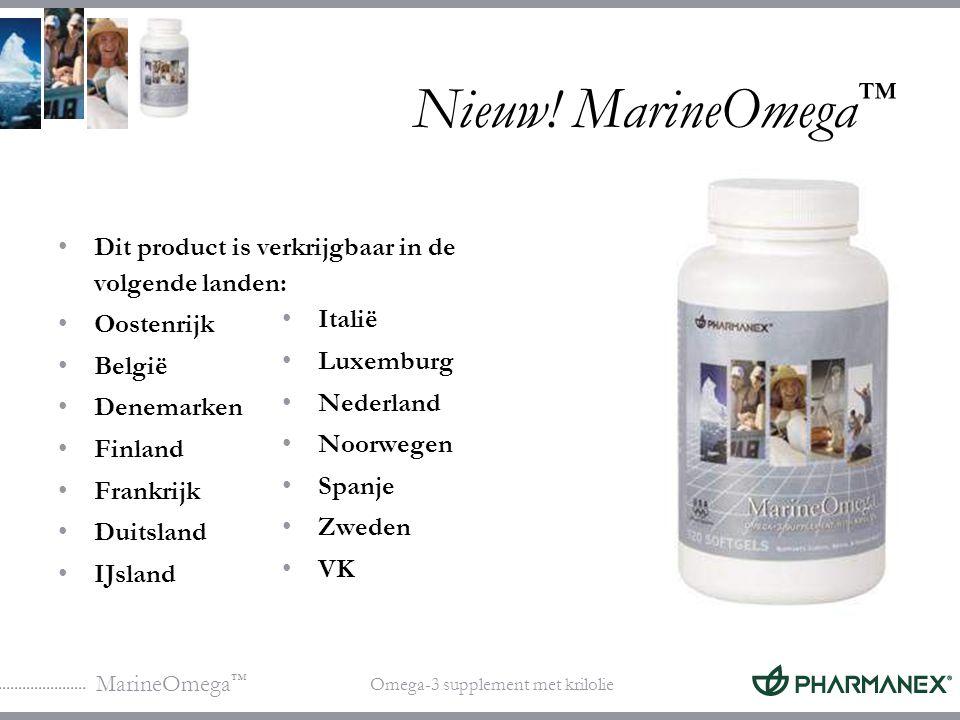 MarineOmega ™ Omega-3 supplement met krilolie Profiteer nog meer van uw voedingssuppletie MarineOmega ondersteunt de opname van antioxidanten en voedingsstoffen in LifePak en LifePak Essentials Super A.