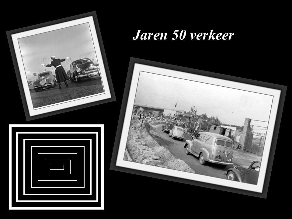 Groot verkeersongeluk met solex 1949