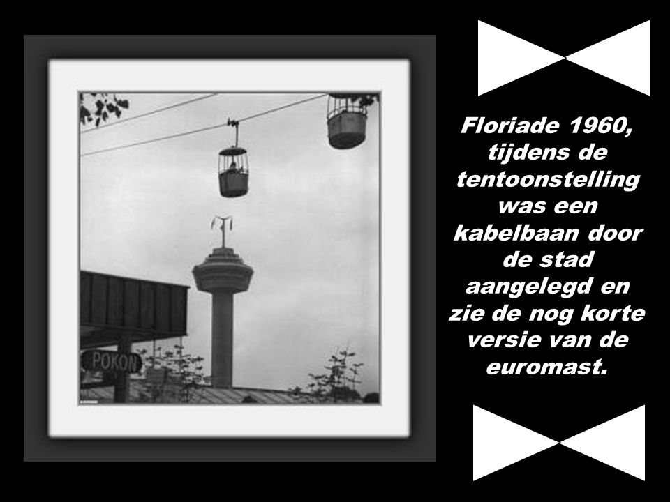 Schouwburgplein 1956 - Bevrijdingsfeesten