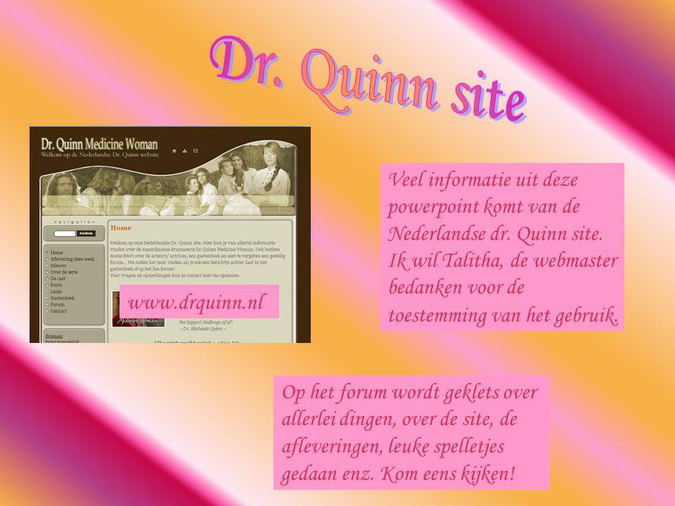 Veel informatie uit deze powerpoint komt van de Nederlandse dr.