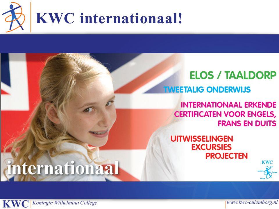 KWC internationaal!