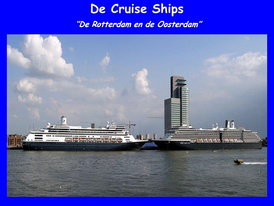 De Cruise Ships ''De Rotterdam en de Oosterdam''