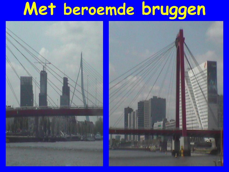 Met beroemde bruggen