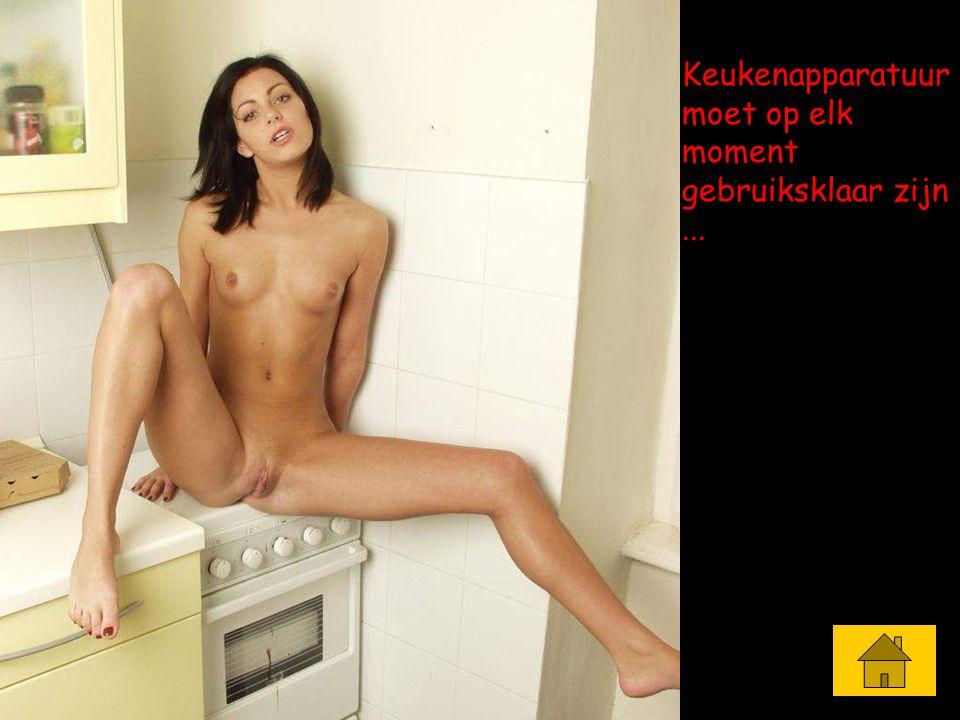 Keukenapparatuur moet op elk moment gebruiksklaar zijn...