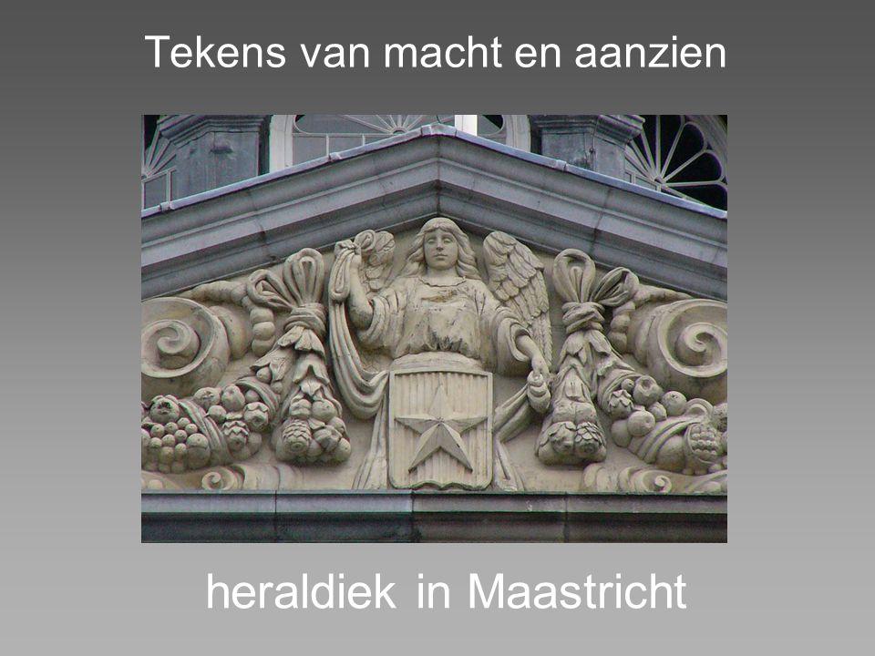 Tekens van macht en aanzien heraldiek in Maastricht
