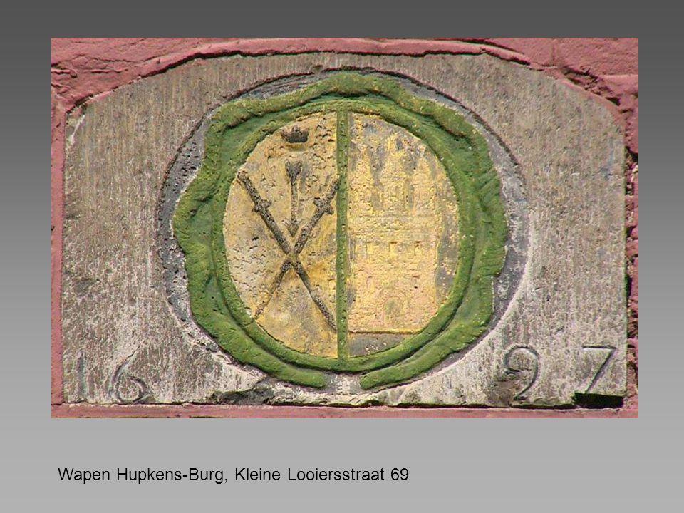 Wapen Hupkens-Burg, Kleine Looiersstraat 69