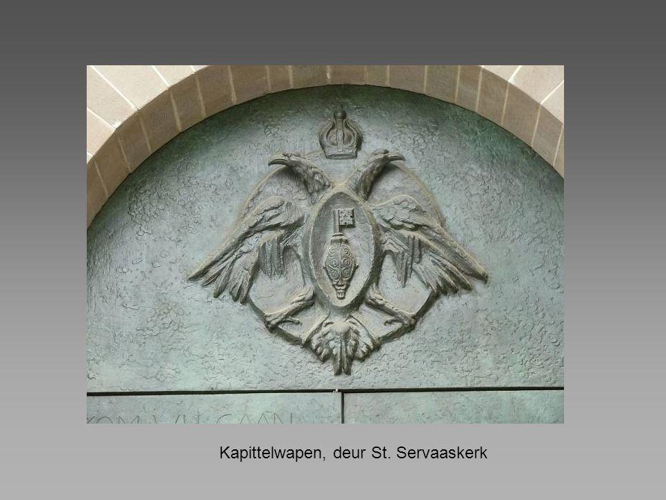 Kapittelwapen, deur St. Servaaskerk