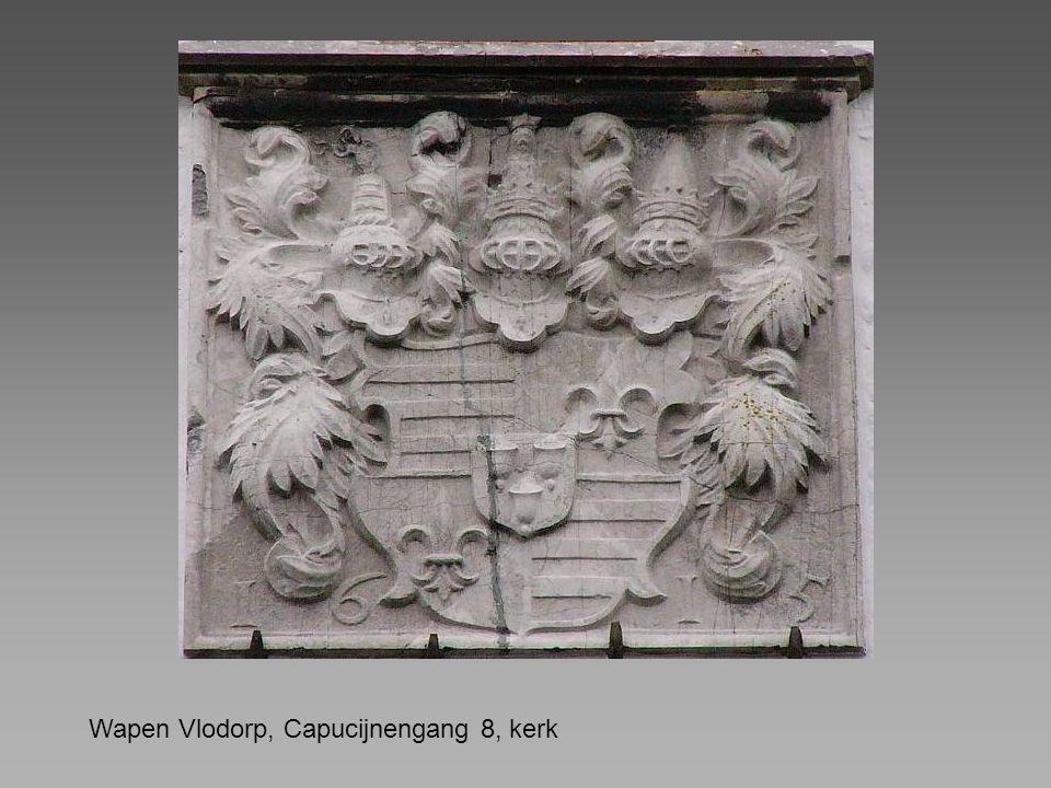 Wapen Vlodorp, Capucijnengang 8, kerk