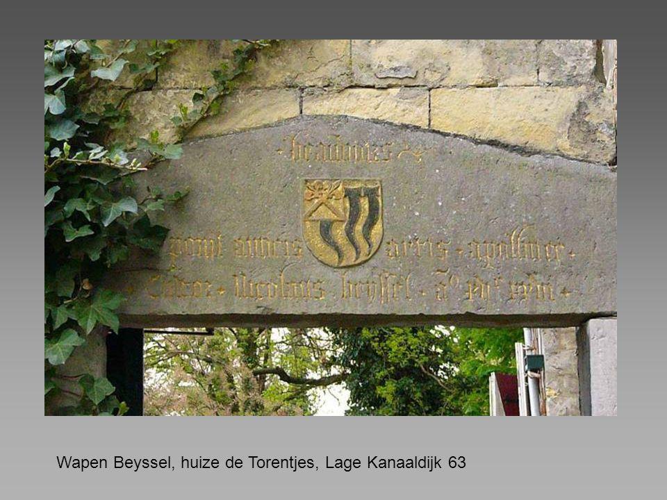 Wapen Beyssel, huize de Torentjes, Lage Kanaaldijk 63