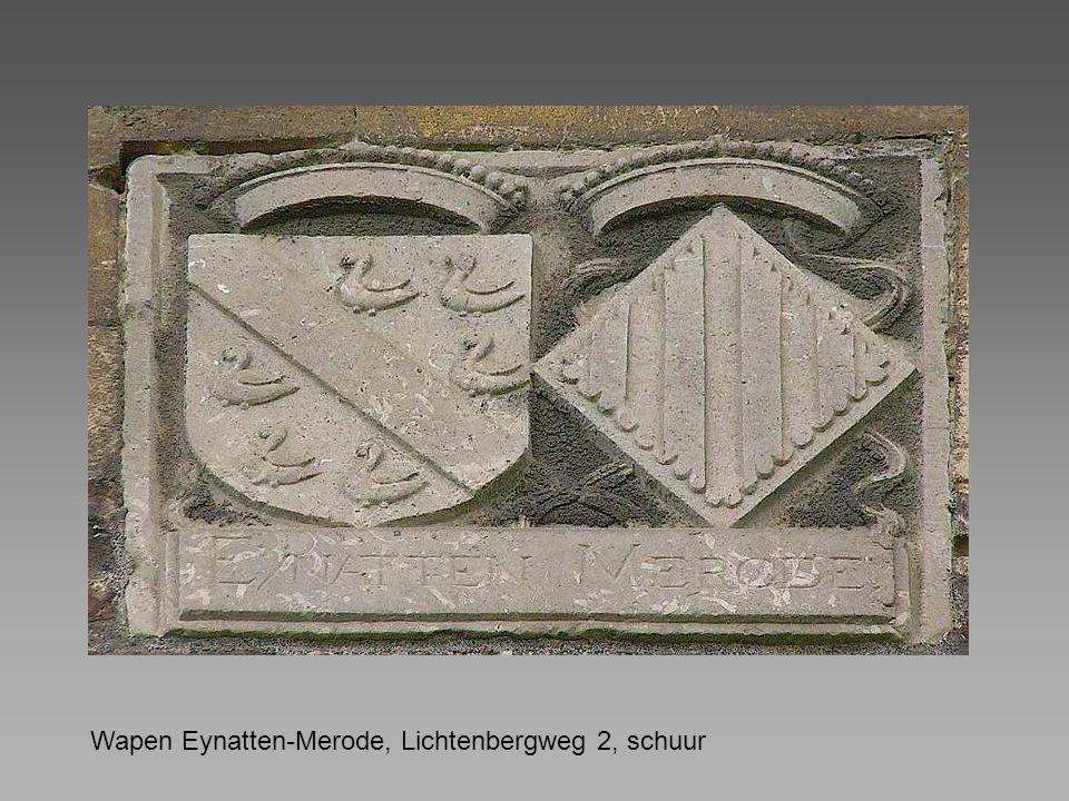 Wapen Eynatten-Merode, Lichtenbergweg 2, schuur