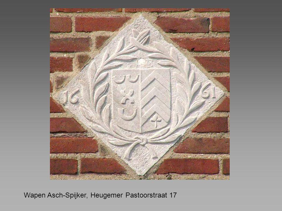 Wapen Asch-Spijker, Heugemer Pastoorstraat 17