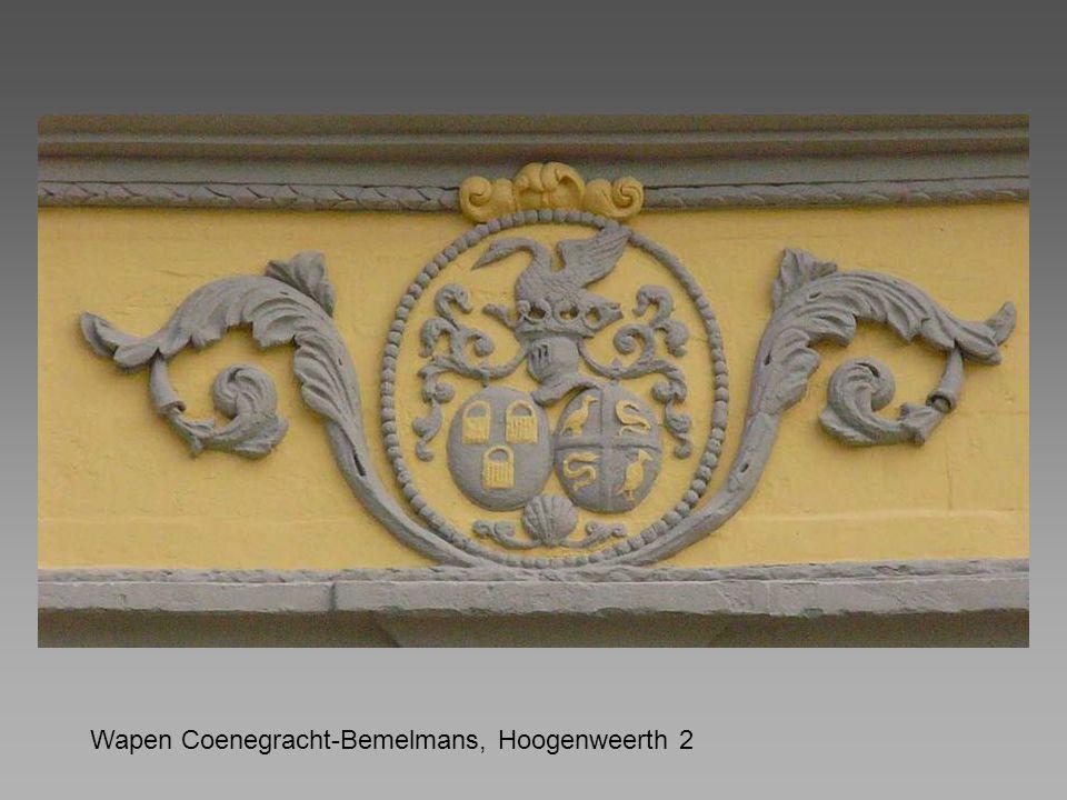 Wapen Coenegracht-Bemelmans, Hoogenweerth 2