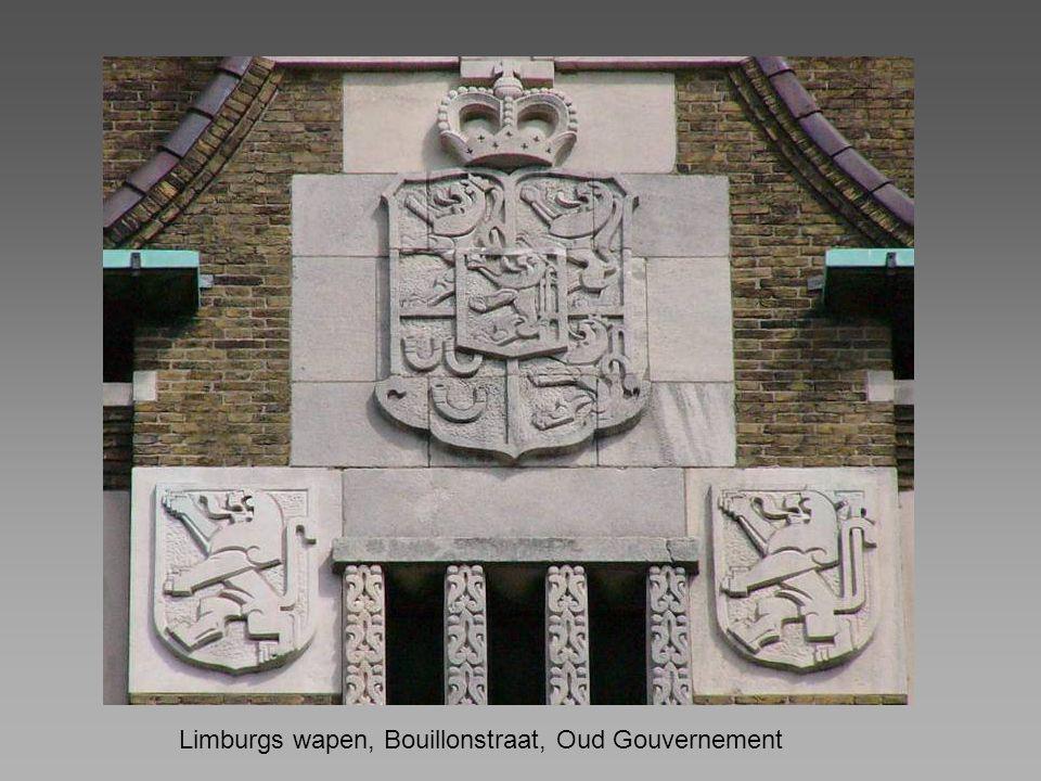 Limburgs wapen, Bouillonstraat, Oud Gouvernement
