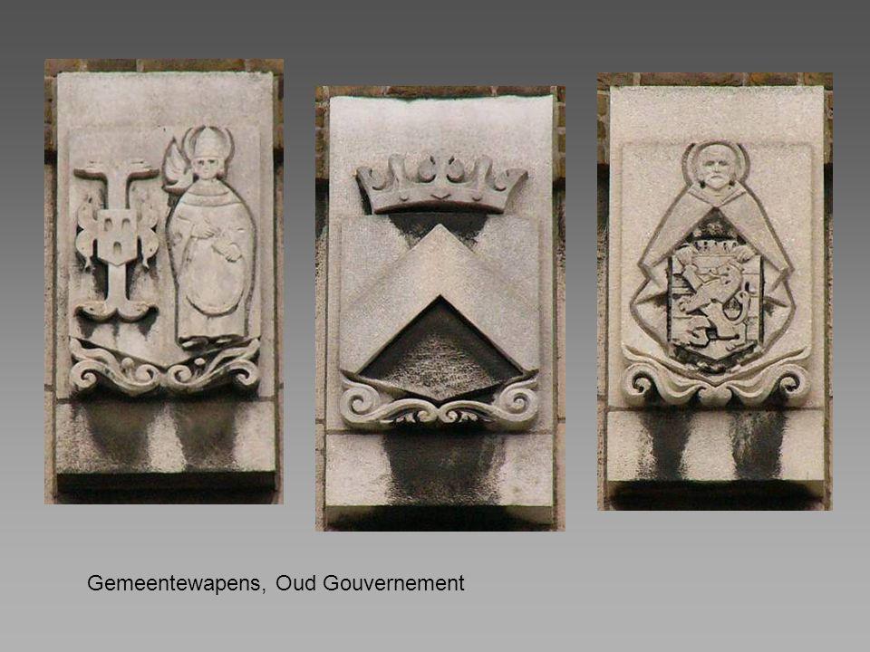 Gemeentewapens, Oud Gouvernement