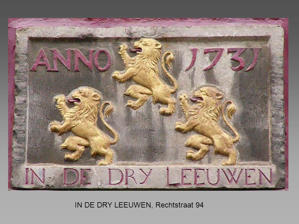 IN DE DRY LEEUWEN, Rechtstraat 94