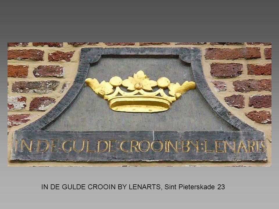IN DE GULDE CROOIN BY LENARTS, Sint Pieterskade 23
