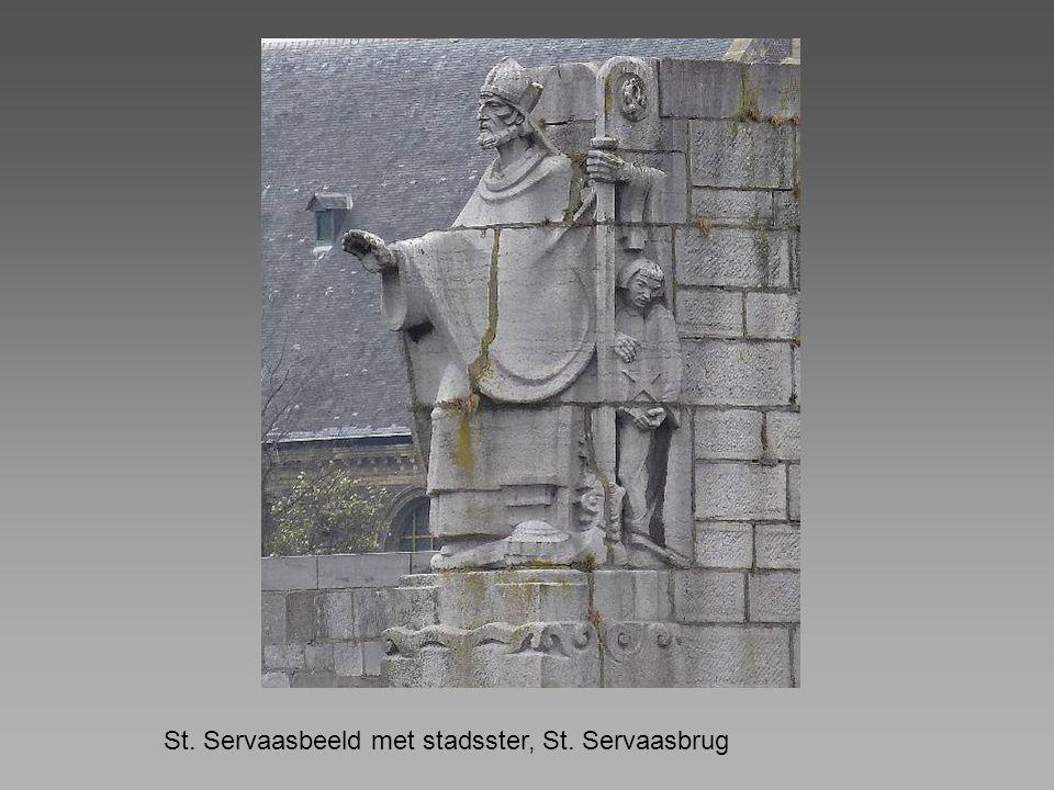 St. Servaasbeeld met stadsster, St. Servaasbrug