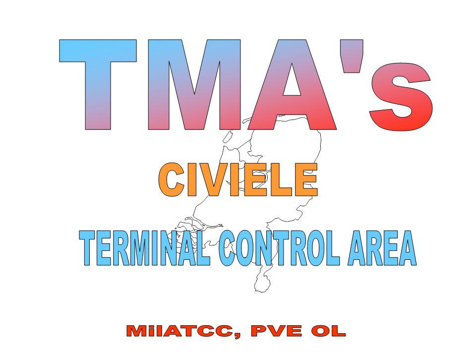 FL 195 1500 AMSL D TMA DE*B FL 195 1500 AMSL C TMA CE*B FL 065 1500 AMSL B TMA BE TMA AE*B FL 195 1500 AMSL A AIRSPACE CLASIFICATION MIL-TMA'S Nieuw M