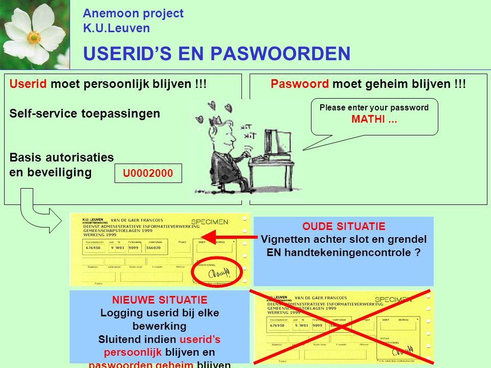 Anemoon project K.U.Leuven Paswoord moet geheim blijven !!.