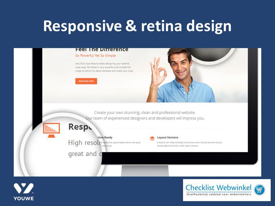 Responsive & retina design