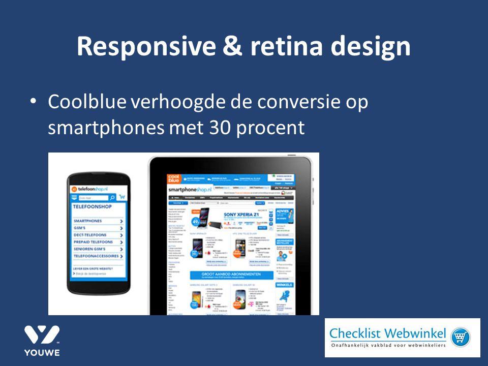 Coolblue verhoogde de conversie op smartphones met 30 procent
