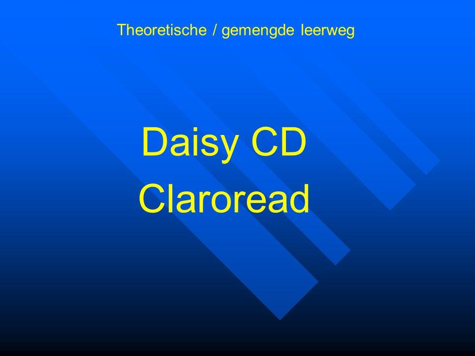 Daisy CD Claroread